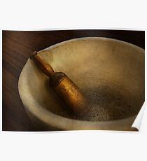 Pharmacy - Pestle - Mortar Grinder  Poster