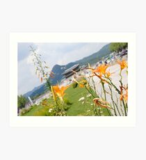 Seoul Flowers II Art Print