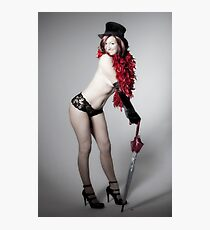 Playful Vamp!! Photographic Print