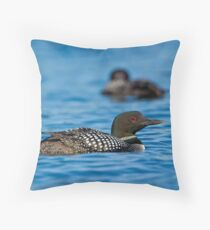 Loons Throw Pillow