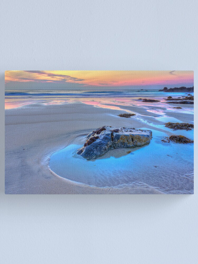 Alternate view of Pastel Beach Canvas Print