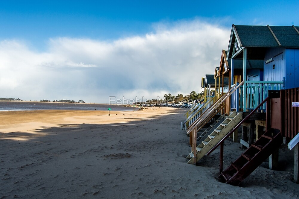 Beach Huts by FabablesMcGee