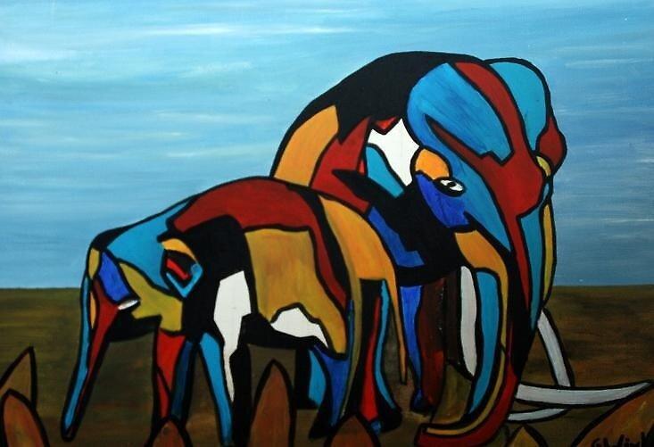 wee olifanten2 by GWinkel