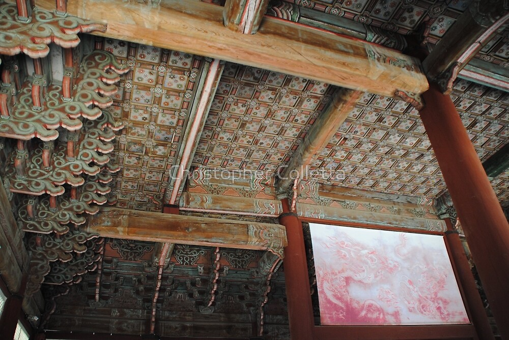 Seoul Palace Ceiling by Christopher Colletta