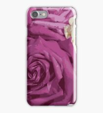 Roses are Pink iPhone Case/Skin