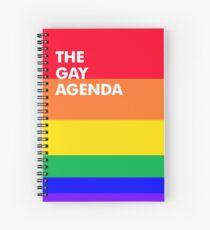 Die Gay Agenda Spiralblock