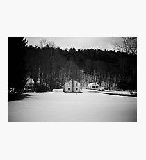 Hortonville House Photographic Print
