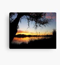 Adachi Sunset Canvas Print