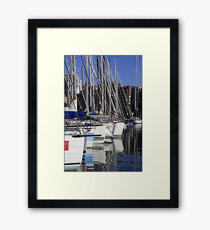 Sailing Yachts Framed Print