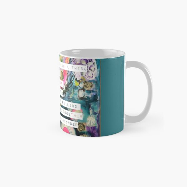She was standing there Classic Mug