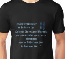One Hundred Years of Solitude quote Unisex T-Shirt