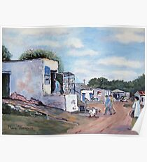 Bokkom Lane, Velddrif, South Africa Poster