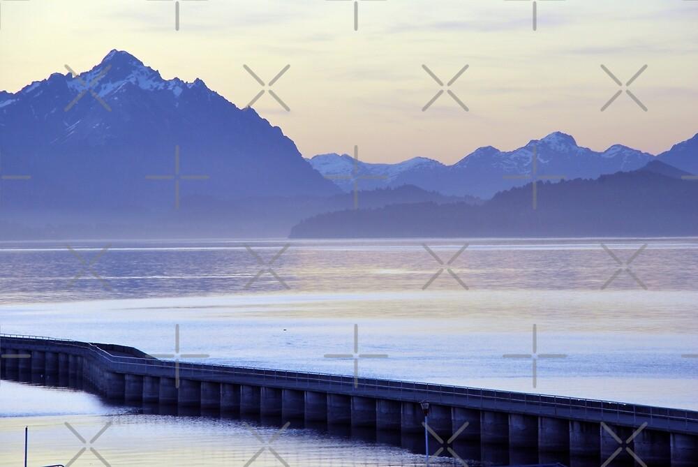 Purple light  in Bariloche  by Alessandro Pinto