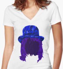 Noel Fielding Women's Fitted V-Neck T-Shirt