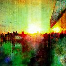 Sunset on East Harlem  by David North