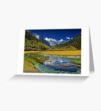 Landscaping Greeting Card