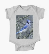 Blue Jay in the Brush One Piece - Short Sleeve
