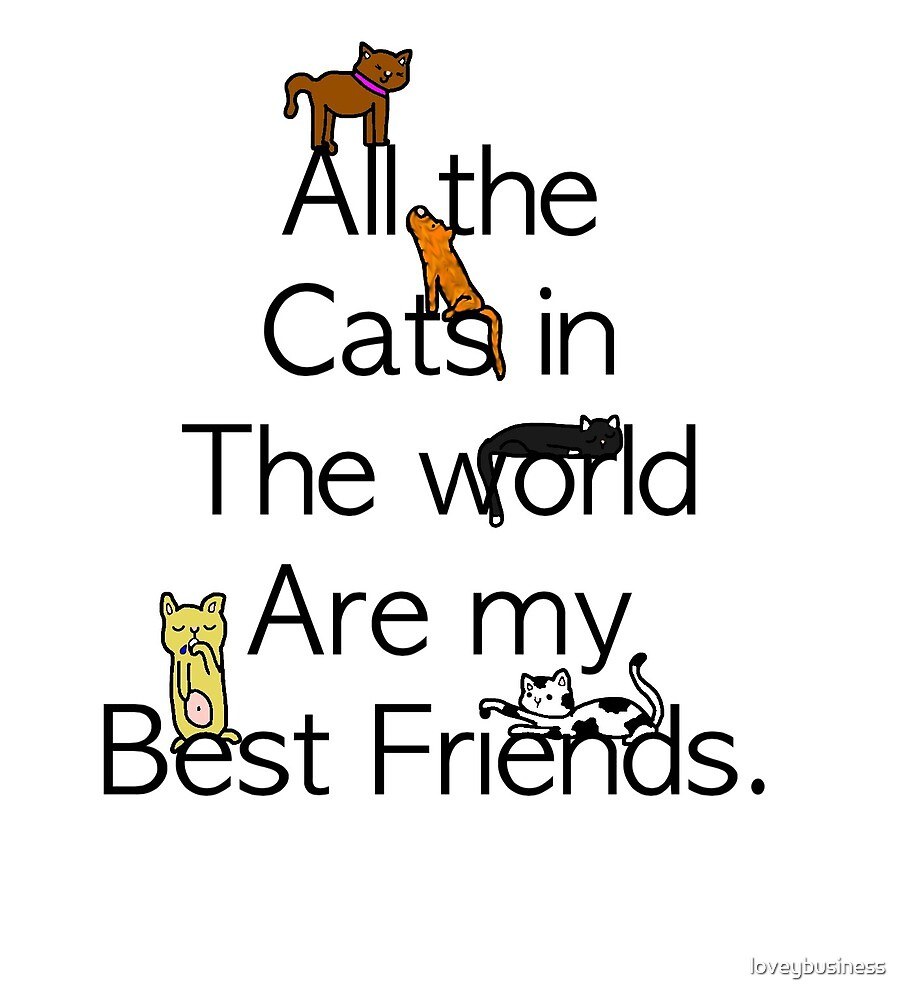 All the cats in the world  by loveybusiness