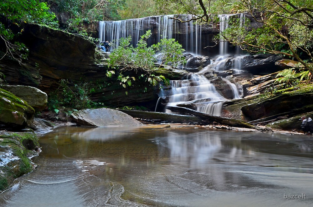 The Hidden Photographer, Somersby Falls by bazcelt