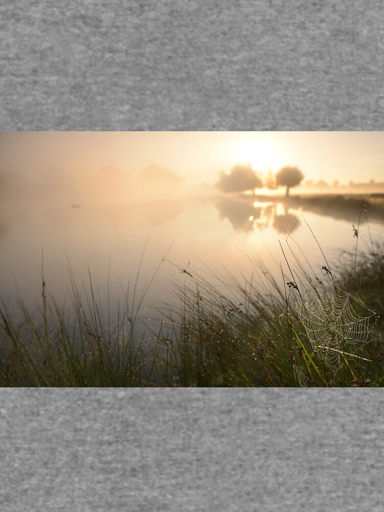Autumn Sunrise by the Pond by kasianowak