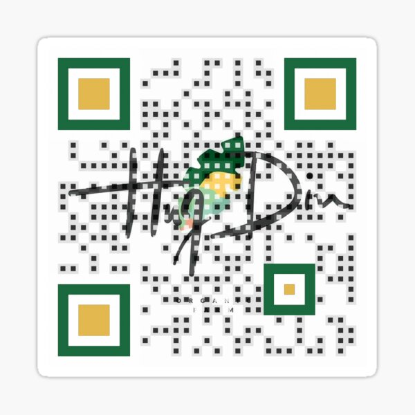 Logo QR Code with Branding Sticker