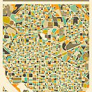 WASHINGTON DC MAP by JazzberryBlue
