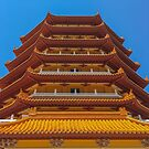 Chung Tian Buddhist Temple  by Vanessa Pike-Russell