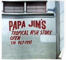 Fish Store-E Poster