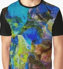 mixed colors Graphic T-Shirt