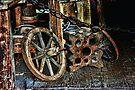 Old Farm Gear  by Elaine Manley