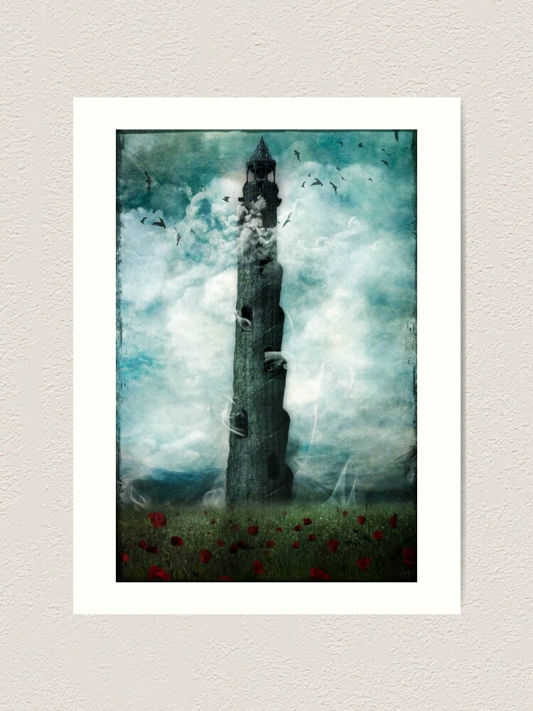 Alternate view of The Dark Tower Art Print
