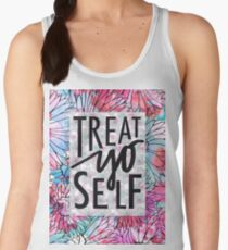 Treat Yo Self Parks and Recreation  Women's Tank Top