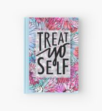 Treat Yo Self Parks and Recreation  Hardcover Journal