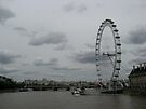Eye on the River Thames by ValeriesGallery
