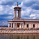 Normanton Church, Rutland Water by Sue Knowles