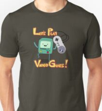 BMO - Let's Play Video Games! T-Shirt
