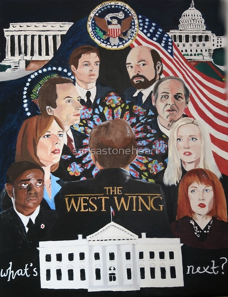 THE WEST WING by sansastoneheart