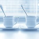 Two cups of coffee by Olga Altunina