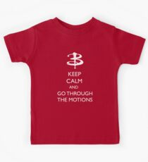 Go through the motions Kids Tee