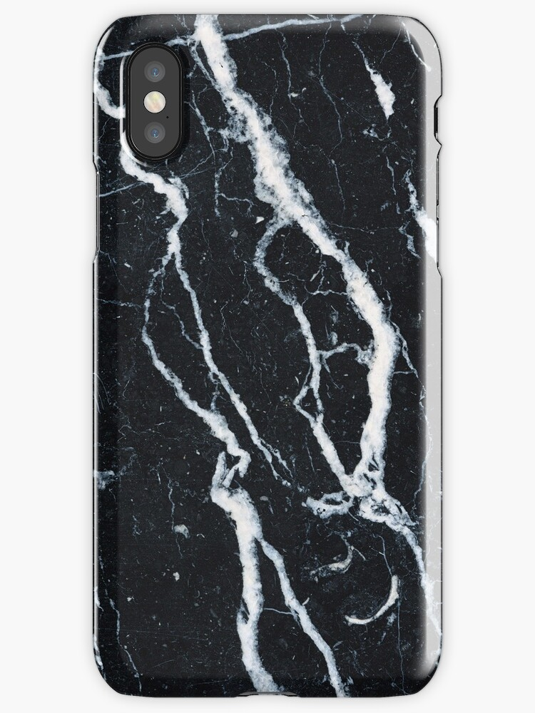 Quot Black Marble Iphone Case Quot Iphone Cases Amp Covers By Mikath
