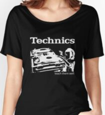 technics 3 Women's Relaxed Fit T-Shirt