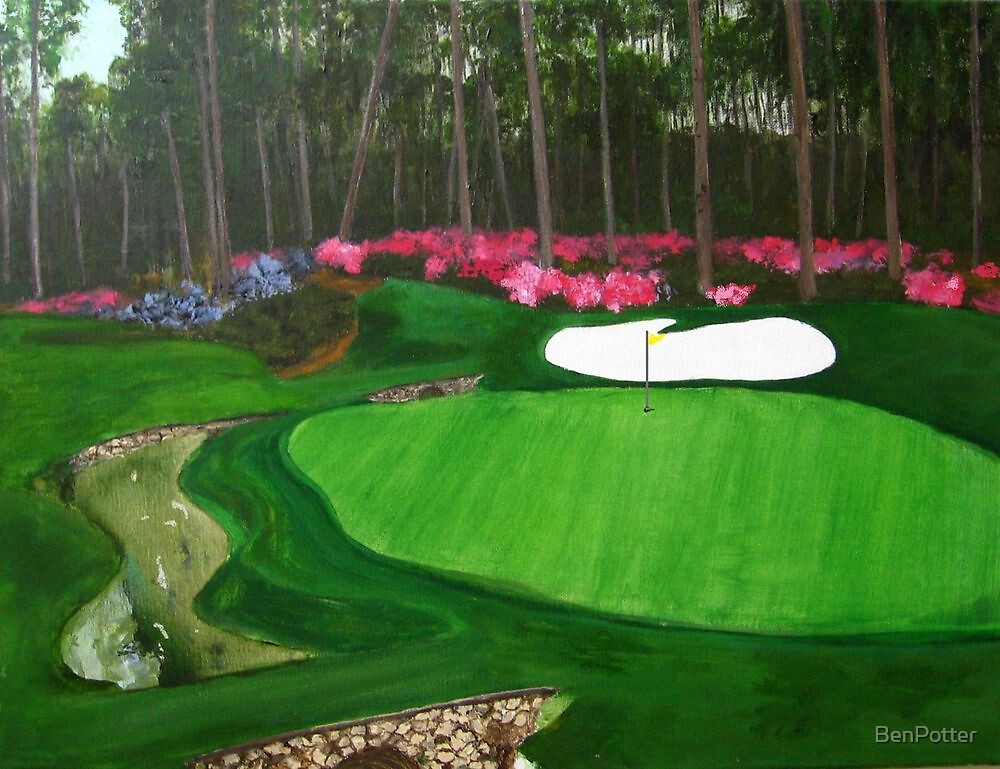 Augusta National Golf Club by BenPotter