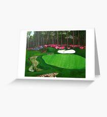 Augusta National Golf Club Greeting Card
