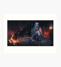 Fingolfins Charge Kunstdruck