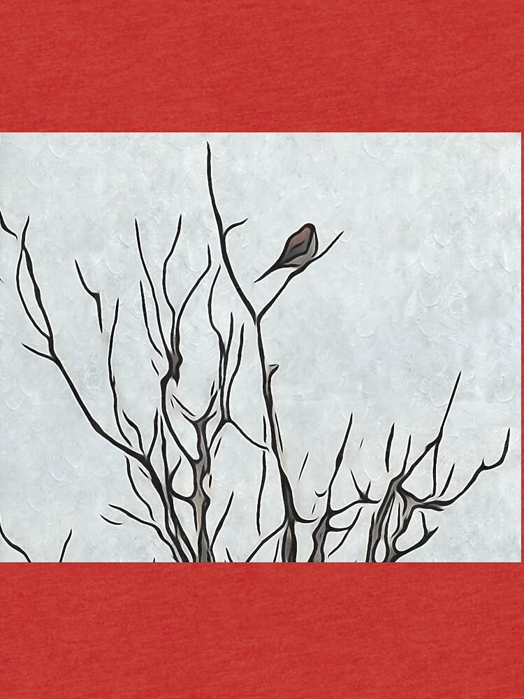 Bird in a Bush by Anniepics