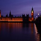 Palace of Westminster by Anthony Hennessy