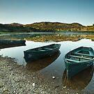 Watendlath Boats by Brian Kerr