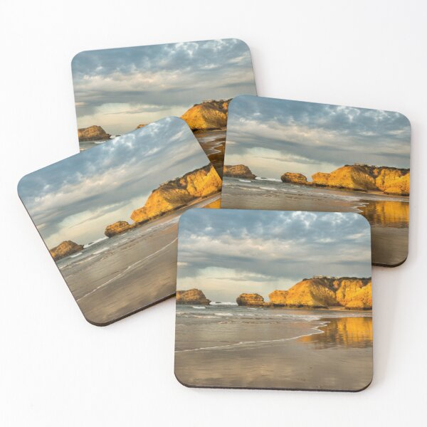 Haystacks near Torquay vic Coasters (Set of 4)
