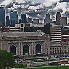 Skyline of Kansas City, Missouri by michael6076