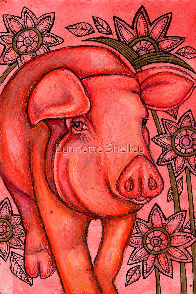 Porcine by Lynnette Shelley